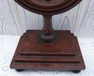Victorian mahogany clock casement, 19th century clock stand, timepiece stand, Victoriana, home decor, antique clock parts, clock restoring