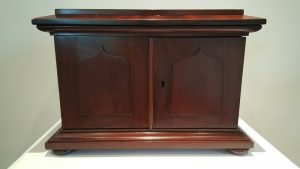 Victorian coin cabinet mahogany 30 drawers collector's case fine quality