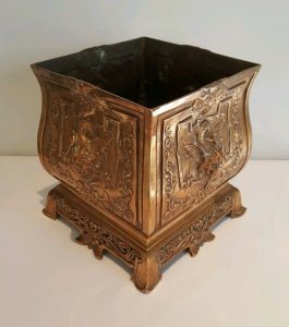 Antique French Bronze Jardiniere