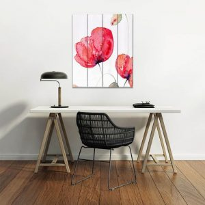 Large Red Poppies by Amnda Hawkins at DiaNoche Designs
