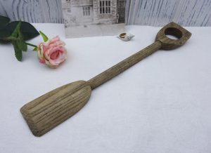 Vintage children's small wooden spade, antique toy wood spade, kid's toy spade, interior design piece, decorator's piece