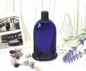 Art Deco Cobalt Bourjois Perfume Bottle