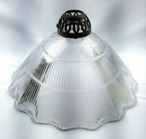 Antique Holophane light shade