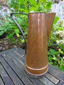 Arts & Crafts Copper Water Jug