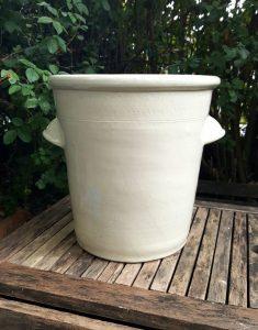 Victorian 4 gallon stoneware dairy creamer pouring vessel by Doulton of Lambeth