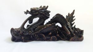 Vintage Ornamental Chinese Dragon made from Resin