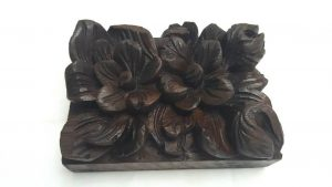 Victorian carved oak architectural detail