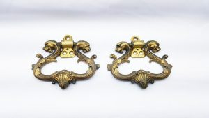 19th Century French ormolu handles