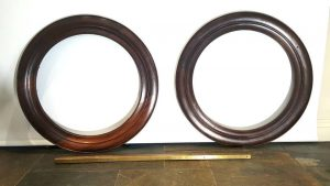 Antique Mahogany Frames for pictures or mirrors
