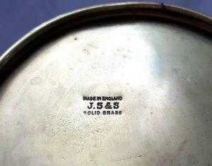 Art Nouveau brass jug by Joseph Sankey & Sons