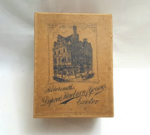 Victorian Depree, Raeburn & Young of Exeter box