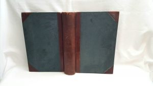 original rare ledger book with no entries by Bennett Brothers of Bristol