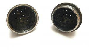 Georgian egg shaped vinaigrette or pomander