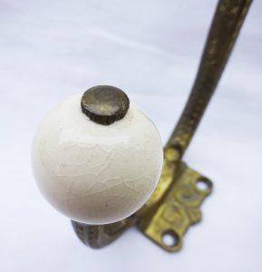 Antique French Ormolu Coat Hook
