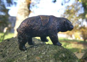 Vintage Brass Bear, a Souvenir from Yosemite National Park