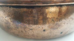 19th Century French Copper Pan