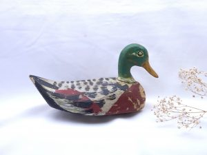 Antique French decoy duck