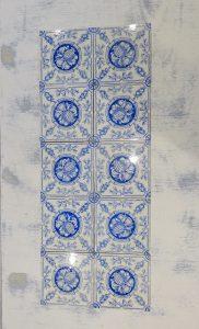 Victorian Minton Hollins & Co tiles x 10