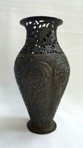 Antique Kashmiri Copper Vase