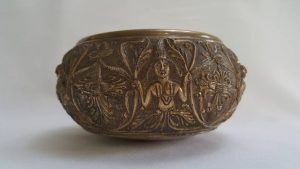 Antique Ceylonese Bronze Bowl