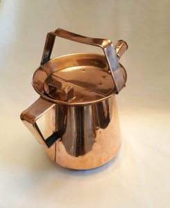 Copper watering can - a good vessel / copper can of six pint capacity for indoor or outdoor watering