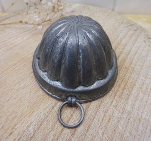 Vintage pewter mould, 1950's Italian Gianduia chocolate mould by Cosi Tabellini, 100% lead free pewter orange segment mould, made in Italy