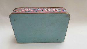 Antique Chinese Cloisonné Box