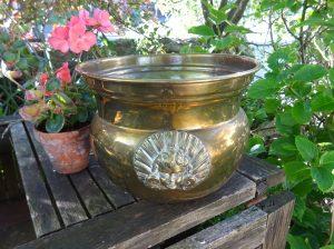 Victorian Soutterware brass jardiniere