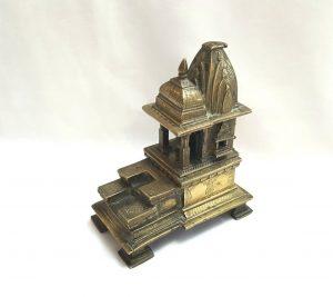 Antique miniature Indian temple