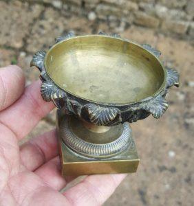 19th Century Neoclassical bronze dish