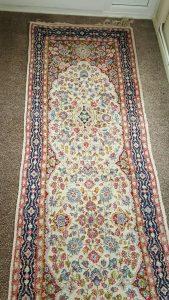 Vintage Persian wool runner