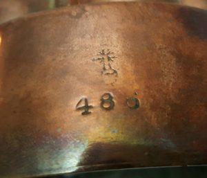 Victorian Benham & Froud Copper Jelly Mould No. 486